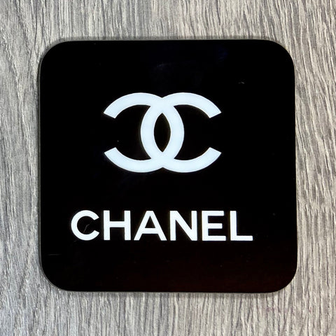 CHANEL COASTER - Sweet Pea and Tulip