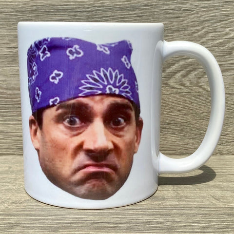 Prison Mike Coffee Mug - Sweet Pea and Tulip