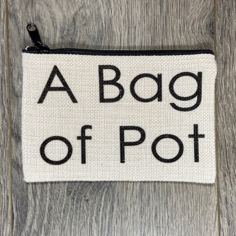 A Bag of Pot Bag - Sweet Pea and Tulip