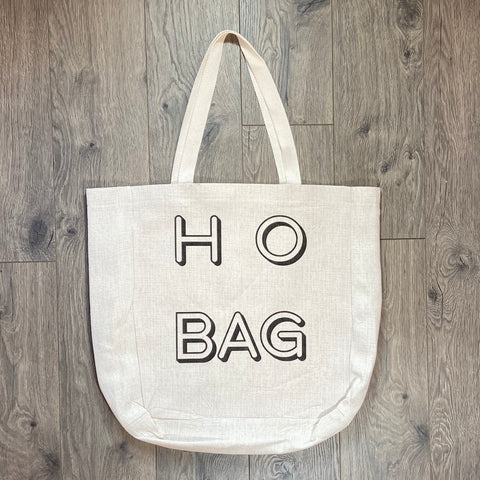 Ho Bag Tote Bag - Sweet Pea and Tulip