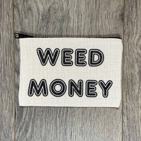 Weed Money Bag - Sweet Pea and Tulip