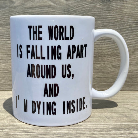 Schitt's Creek Moira Quote Mug - Sweet Pea and Tulip
