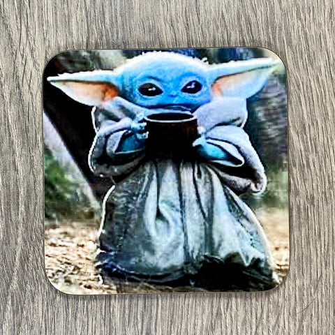 BABY YODA COASTER - Sweet Pea and Tulip