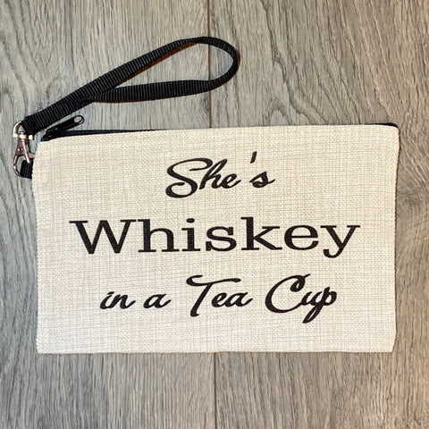 She's Whiskey in A Tea Cup Bag - Sweet Pea and Tulip