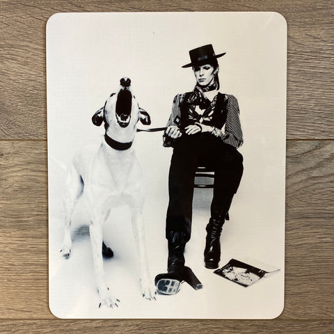 David Bowie & Great Dane