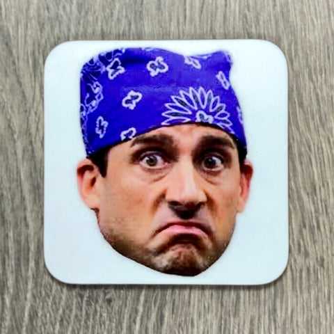 PRISON MIKE COASTER - Sweet Pea and Tulip