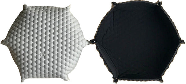 ORIGAMI HEXOPRENE HEXAGON TRINKET TRAYS - AV DESIGN by ANDREA VALENTINI