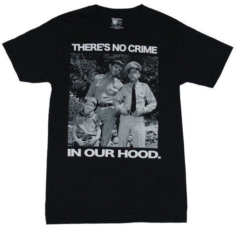 The Andy Griffith Show Mens T-Shirt  - There's No Crime In Our Hood Photo Imag - Inmyparentsbasement.com