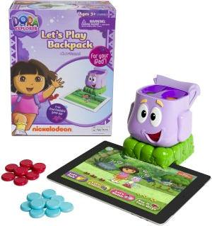 Dora the Explorer Let's Play Backpack duo Powered For Your iPad