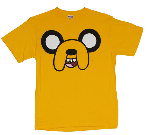 Adventure Time Mens T-Shirt - Giant Jake Face Image