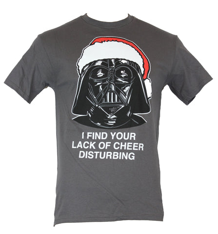 "Star Wars Mens T-Shirt - Darth Vader Christmas ""I Find Your Lack of Cheer à"" - Inmyparentsbasement.com"