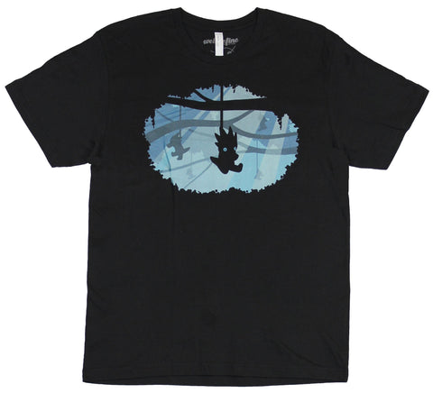 Homestuck Mens T-Shirt - Hanging Dragon Circle Image