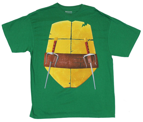 Teenage Mutant Ninja Turtles Mens T-Shirt - TMNT Raphel Classic Costume Front