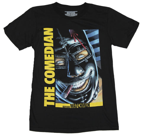 Watchmen Mens T-Shirt - Before Watchmen The Comedian 1  Cover Image