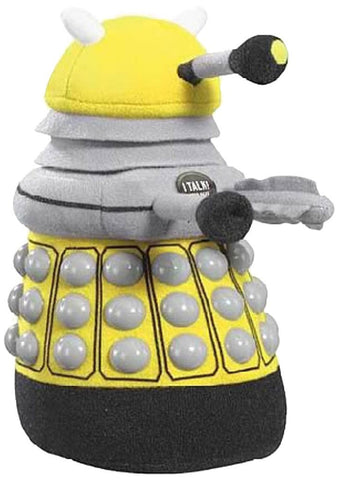 Doctor Who Talking Yellow Dalek Medium Plush - Inmyparentsbasement.com