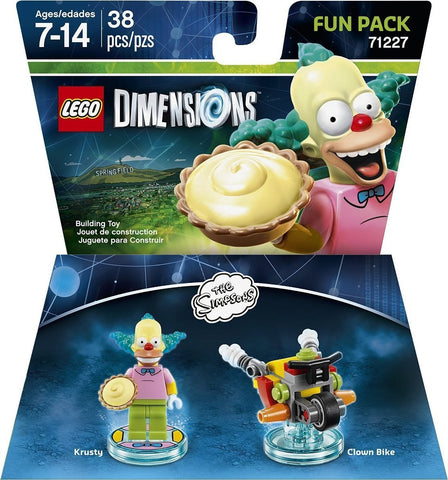 LEGO Dimensions, Simpsons Krusty Fun Pack 71227