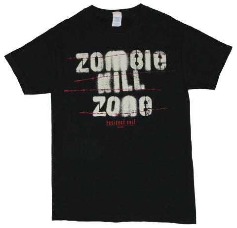 Resident Evil (Classic Capcom Video Game) Mens T-Shirt  - Zombie Kill Zone I