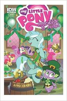My Little Pony Friendship Is Magic #4 (Hot Topic Variant) Comic (My Little Pony Friendship Is Magic)