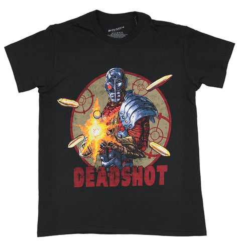 Deadshot (DC Comics) Mens T-Shirt - Comic Deadshot of Suicide Squad in Target