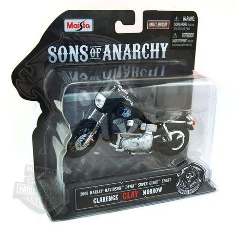 "Harley-Davidson 2008 FXDX Dyna Super Glide Sport-Sons Of Anarchy Clarence ""Clay"" Morrow-1:1"