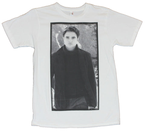 Twilight (Breaking Dawn)  Mens T-Shirt - Edward Cullen Black & White Standing