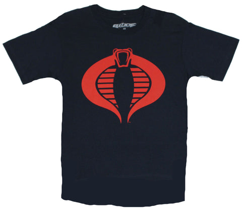 G.I. Joe GI Joe (Classic 80s Toy) Mens T-Shirt  - Classic Cobra Logo on Navy B