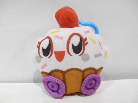 Moshi Monsters Moshlings Cutie Pie Plush Clip-on Keychain