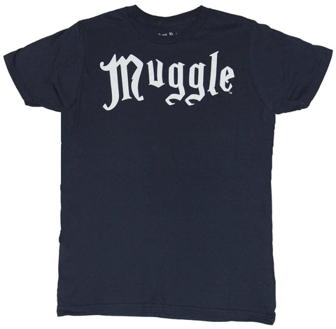 Harry Potter Mens T-Shirt - Muggle White Word Image