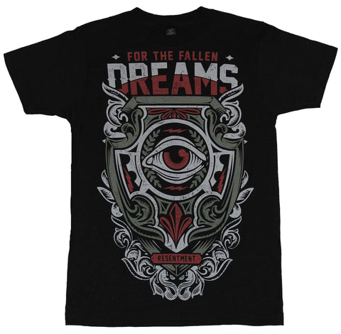 For the Fallen Dreams Mens T-Shirt - Ornate Eyed Resentment Ornate Crest