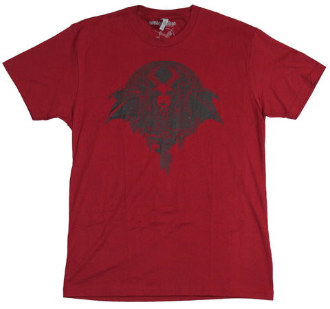 Dota 2 Mens T-Shirt - Queen of Pain Inked Style Image