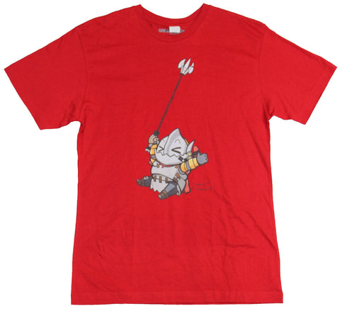 Dota 2 Mens T-Shirt - Swinging Around Cutsie Image