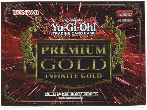 Konami Ygo Gold 3 Infinite Pack Booster Box