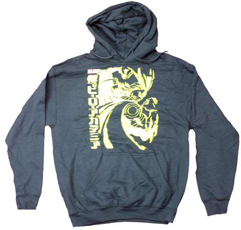 My Hero Academia Mens Pullover Hoodie  - All Might Yellow Pose Action