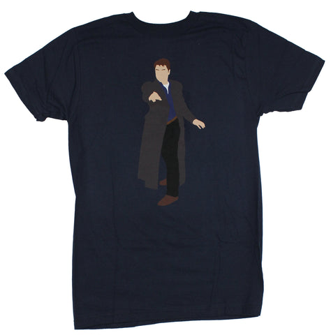 Doctor Who Mens T-Shirt - Captain Jack Harkness Minimalist Image