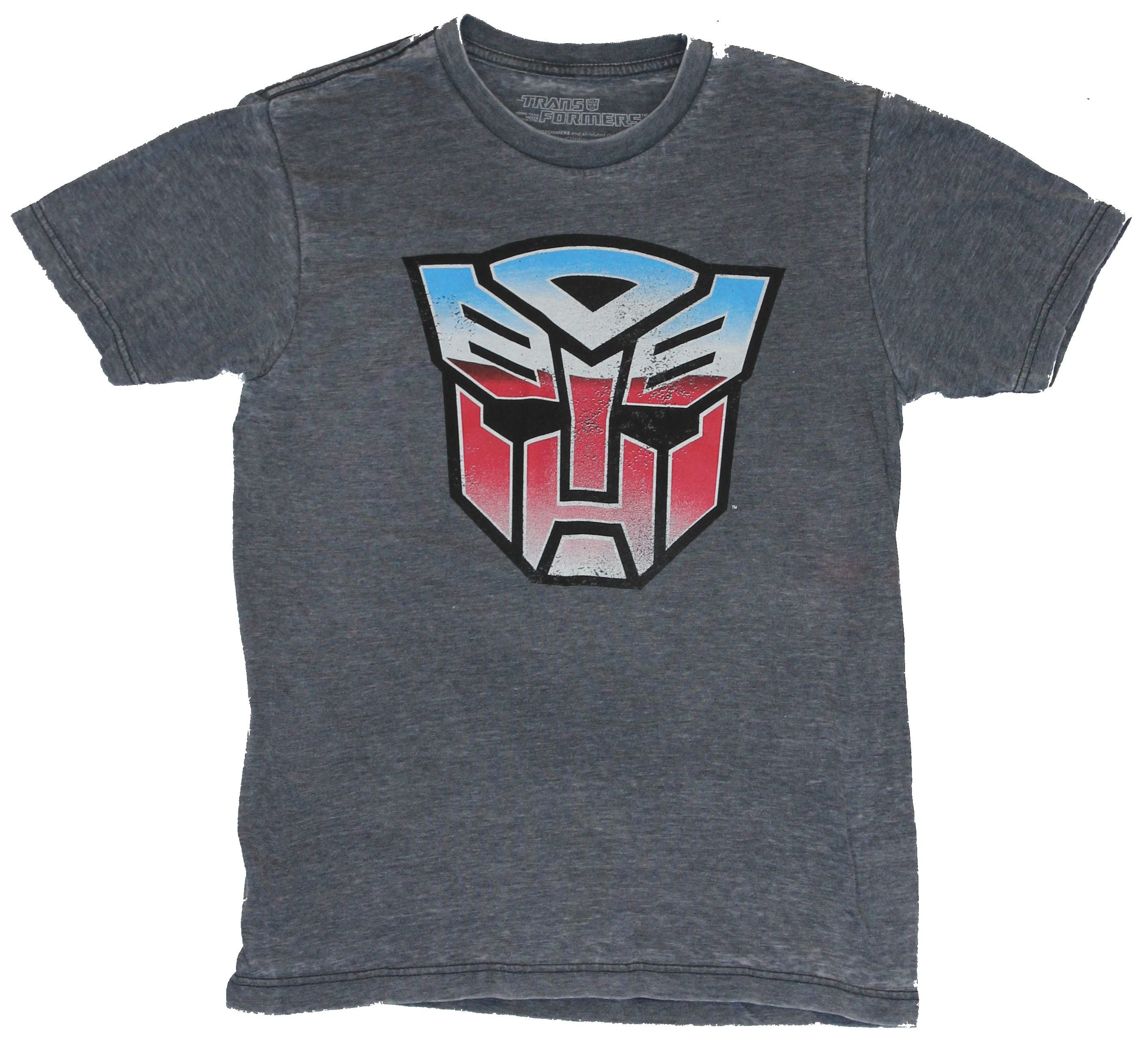 Transformers Mens T-Shirt - Classic Autobot Red Blue White Logo