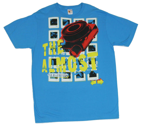 The Almost Mens T Shirt  - Slide Projector on Blue Image [Apparel]
