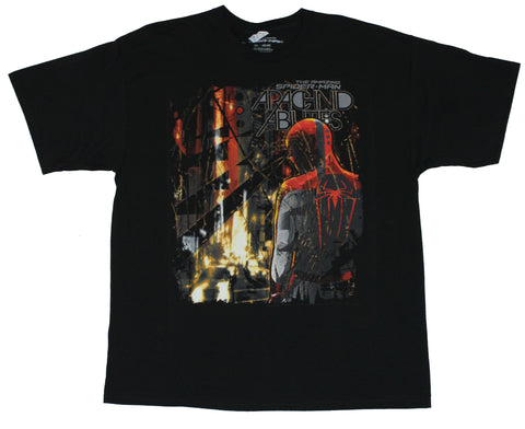 Spider-Man  (Marvel Comics) Mens T-Shirt - Archanid Abilities Back Pose Image