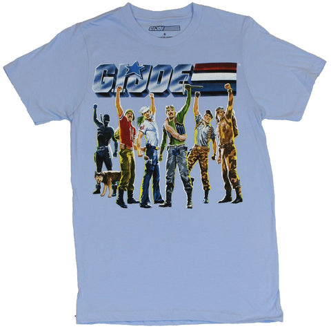 GI Joe Mens T-Shirt  - G.I. Joe 6 Cartoon Joes Arms Up Ready For Business