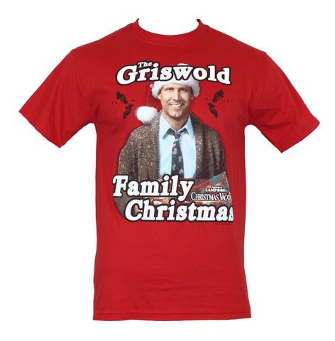 National Lampoon's Christmas Vacation  Mens T-Shirt - The Griswold Family Xmas