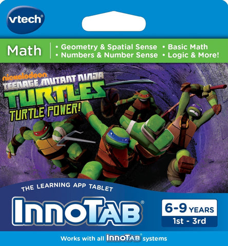 VTech InnoTab Teenage Mutant Ninja Turtles Game Software [Toy]