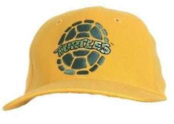 TMNT Teenage Mutant Ninja Turtles Fitted Hat, Yellow [Apparel]