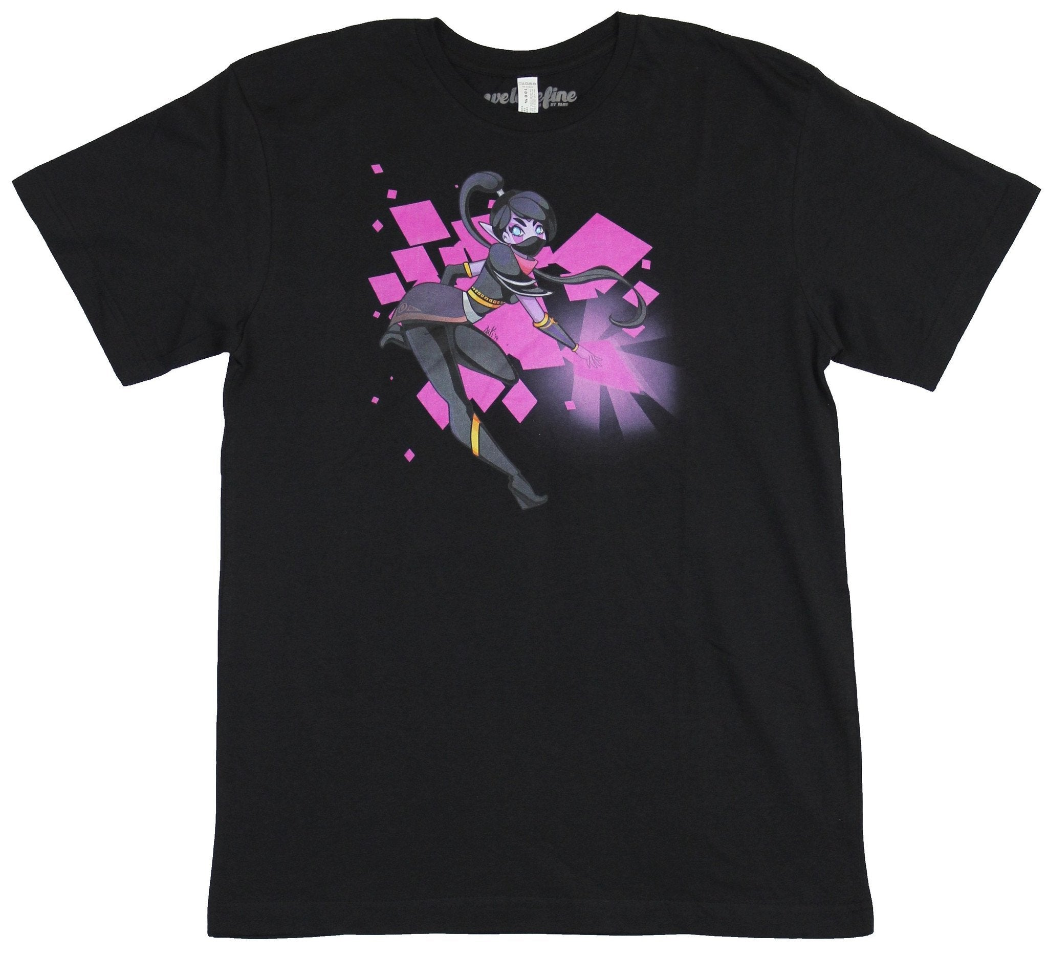 Dota 2 Mens T-Shirt - Purple Light polygon Lanaya Image