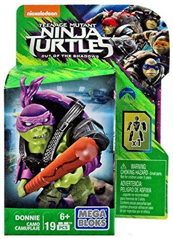 Mega Bloks Teenage Mutant Ninja Turtles Out of the Shadows Donnie