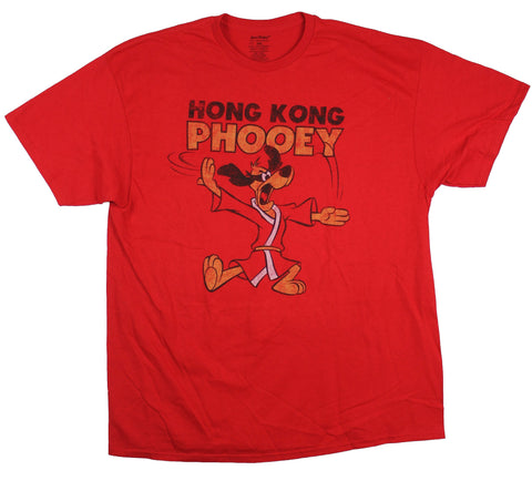 Hong Kong Phooey Mens T-Shirt - Distressed Phooey Chopping Under Logo