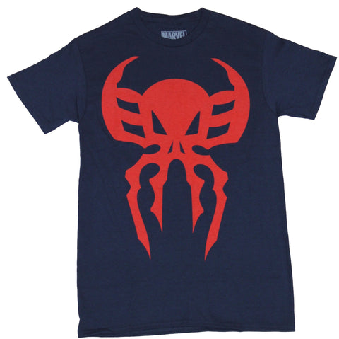 Spider-man 2099 (Marvel Comics) Mens T-shirt - Spider Skull Logo Image