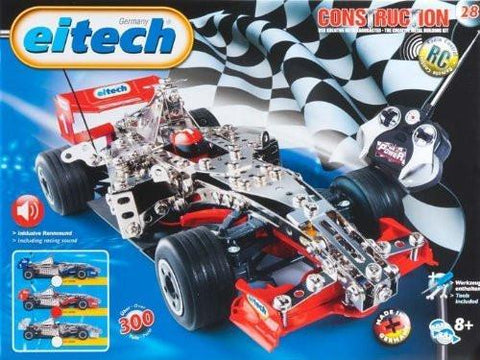 Eitech Construction Kit F1 Remote Control Race Car Kit -Red