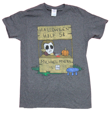 Halloween Mens T-Shirt - Help 5 Cents Michael Myers is In!