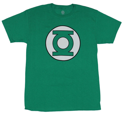 Green Lantern (DC Comics) Mens T-Shirt - Classic Logo Front Quote Back Image