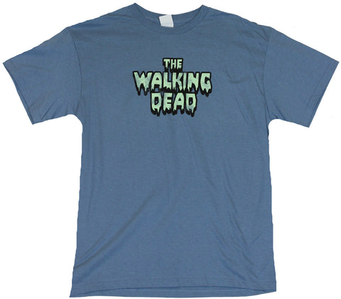 The Walking Dead  Mens T-Shirt -  Creepy Word Logo