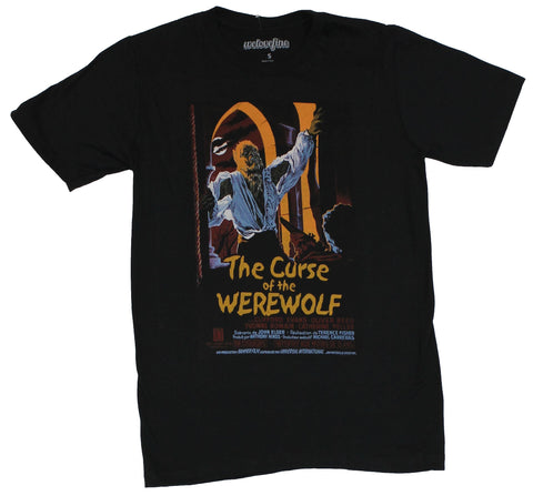 Curse of the Werewolf Mens T-Shirt - Classic Movie Poster Image